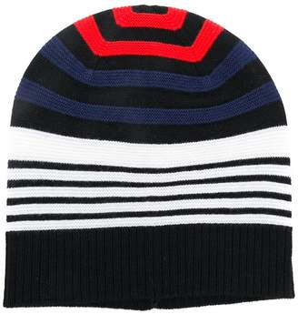 Sonia Rykiel multicolour striped beanie hat