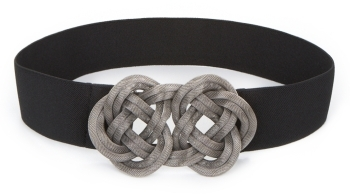 BCBGMAXAZRIA Metal-Applique Belt