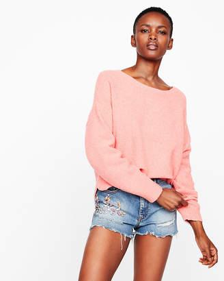 Express Shirttail Hem Sweater