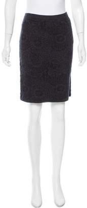 Eileen Fisher Knit Textured Skirt