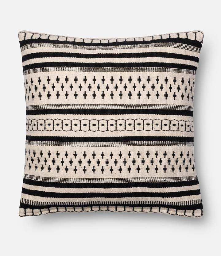 Magnolia Home by Joanna Gaines Charis Striped Square Feather Pillow