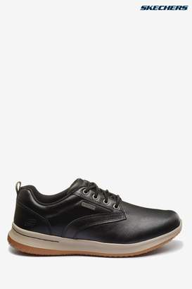 Skechers Mens Delson Antigo Shoes - Black