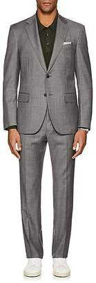 Barneys New York Men's Lotus Worsted Wool Two-Button Suit - Gray