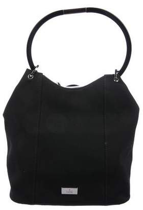 Gucci Satin Ring Handle Bag