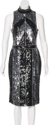 L'Agence Sequined Cocktail Dress w/ Tags