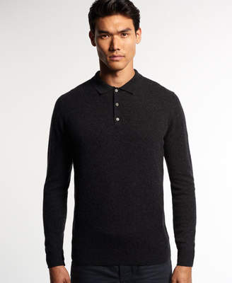 Superdry Leading Cashmere Polo Jumper