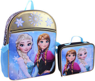 Disney Kids Girls) Frozen Backpack and Detachable Lunch Pack