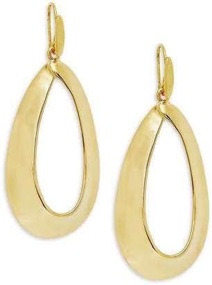 Robert Lee Morris Women's Oval Cut-Out Earrings