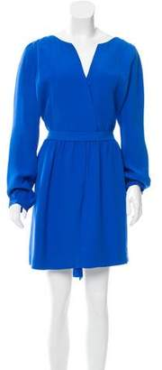 Balenciaga Silk Belted Dress