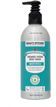 Beauty Kitchen Minty Fresh Organic Body Wash 300ml