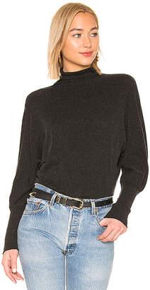 Enza Costa Cashmere Cuffed Dolman Sweater