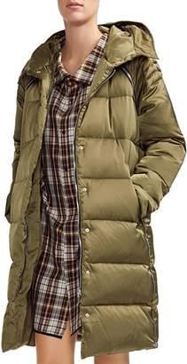 Maje Grenadina Side-Zip Detail Down Coat