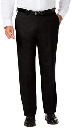 Haggar Jm Dress Pant Mens Classic Fit Flat Front Pant-Big and Tall