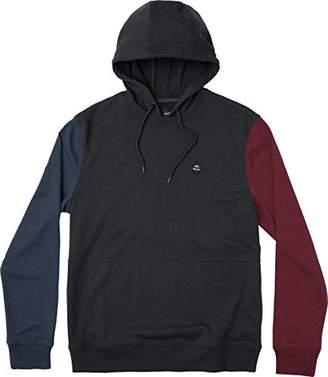 RVCA Men's Mixed Bag Hooded Sweatshirt