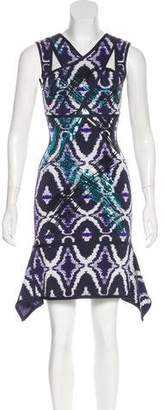 Herve Leger Natalia Sequined Dress