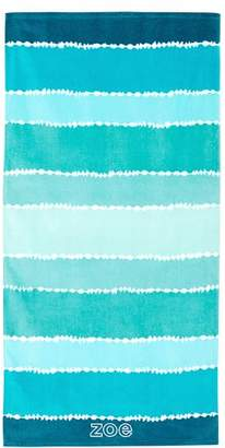 Pottery Barn Teen Tie Dye Stripe Beach Towel, Pool