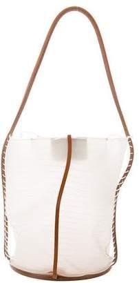 Salvatore Ferragamo Creations Collection PVC Handle Bag w/ Tags