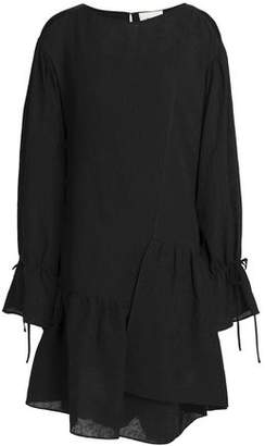 3.1 Phillip Lim Asymmetric Cutout Silk-Jacquard Dress