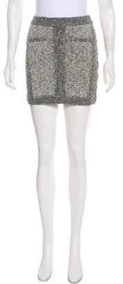 Rag & Bone Bouclé Mini Skirt
