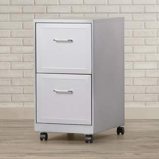Zipcode Design Forest 2 Drawer Mobile Vertical Filing Cabinet