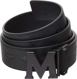 "MCM M Reversible Belt 1.75"" In Monogram Leather"
