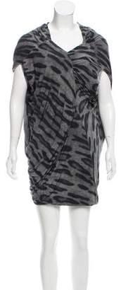 Yigal Azrouel Printed Mini Dress w/ Tags