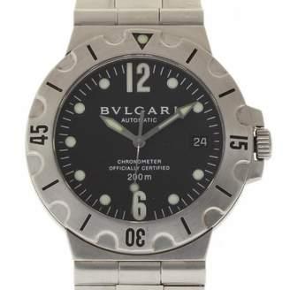 Bulgari Diagono Black Steel Watches