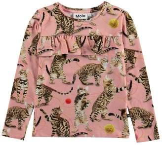 Molo Rosita Wannabe Leopard Top
