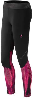 New Balance Women's Lace Up Accelerate Tights