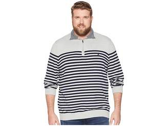 Nautica Big Tall 1/2 Zip Mock Pullover