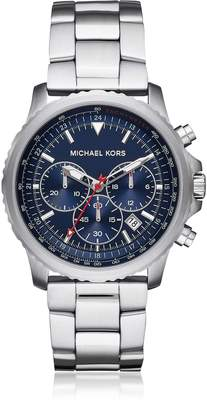 Michael Kors Theroux Stainless Steel Chronograph Watch