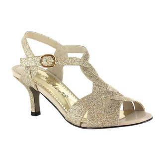 Easy Street Shoes Womens Glamorous Pumps Buckle Open Toe Spike Heel