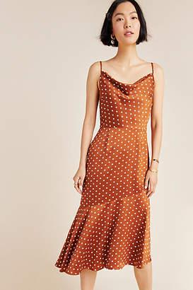 J.o.a. Josie Polka Dot Slip Dress