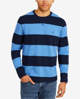 Nautica Men Rugby Stripe Sweater