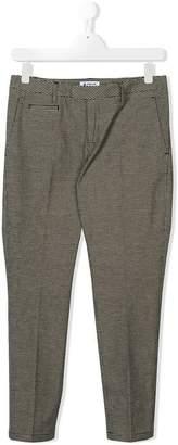 Dondup Kids TEEN pin check trousers