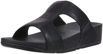 FitFlop Men's H-Bar Shimmerlizard Sandal