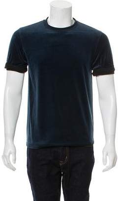 3.1 Phillip Lim Velour Rolled Cuffed T-Shirt w/ Tags