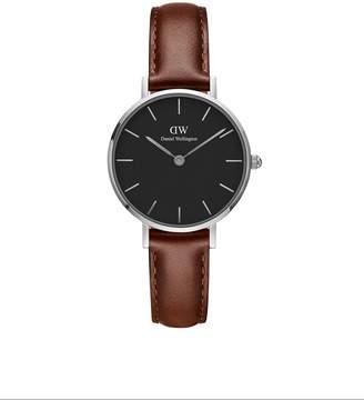 Daniel Wellington Women's DW00100237 Classic Petite St Mawes in Black 28mm Watch