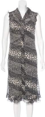 Chanel Floral Print Dress Set
