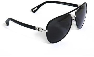 Lanvin Leather framed aviator sunglasses