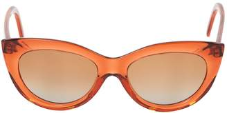 Marni Orange Plastic Sunglasses