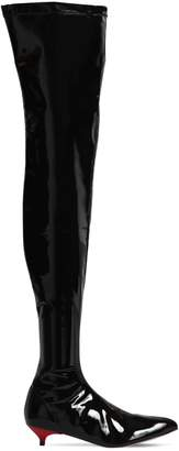 Couture Gia 30mm Vinyl Over The Knee Boots