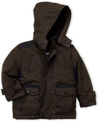Urban Republic Toddler Boys) Olive Hooded Coat