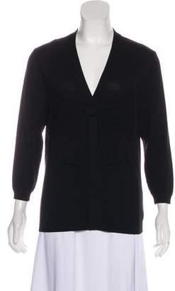 Valentino Short Sleeve Knit Top