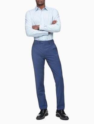 Calvin Klein x fit ultra slim fit navy suit pants