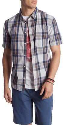Quiksilver Tidal Ridge Plaid Short Sleeve Regular Fit Shirt
