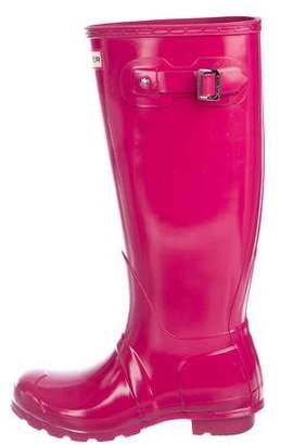 Hunter Rubber Knee-Length Rainboots