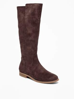 Old Navy Tall Faux-Suede Boots for Women