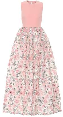 Huishan Zhang Sleeveless fil coupé dress