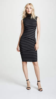 Bailey 44 Bailey44 Pavlova Striped Bondage Dress